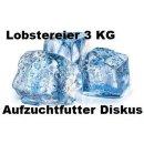 Lobstereier Frostfutter 3 KG Aufzucht für Diskus...