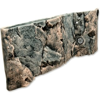 Back to Nature ROCKY JUWEL  Aquarium Rückwand 100x42cm